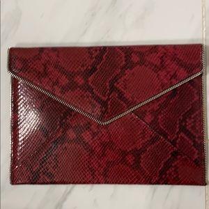 Rebecca Minkoff zipper clutch
